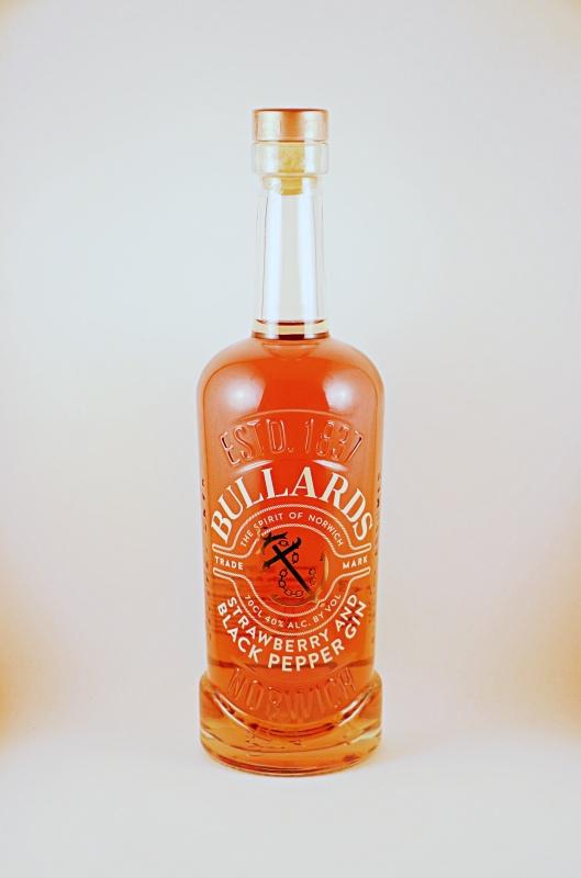 Bullards Black Strawberry and Pepper Gin